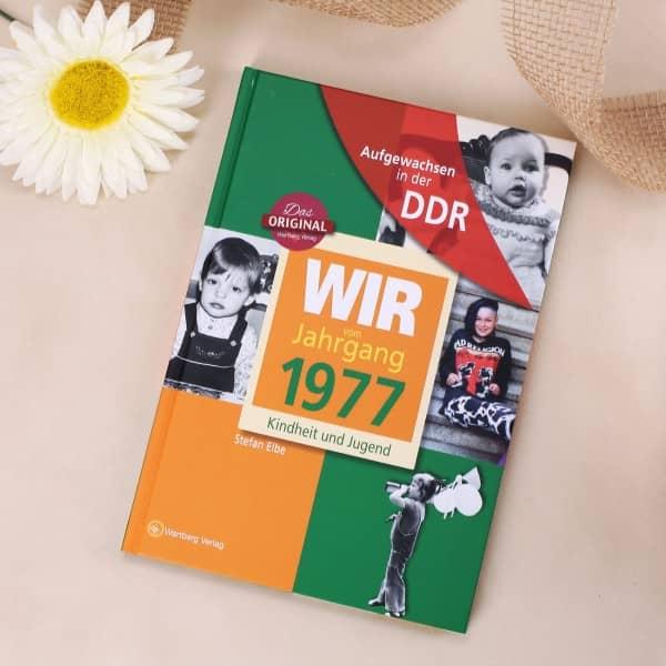 Jahrgangsbuch 1977 Kindheit und Jugend in der DDR