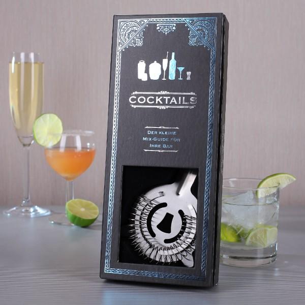 Cocktail Geschenkset mit Buch
