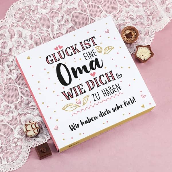 Lindt Pralinen für die Oma mit Wunschtext