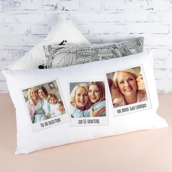 Loungekissen mit Fotoaufdruck