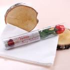 Schokoladen Rose mit persönlicher Botschaft