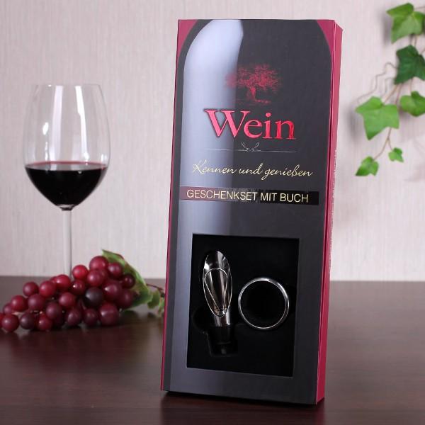 Wein - Geschenkset mit Buch