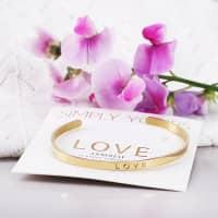 Armreif - LOVE - Gold