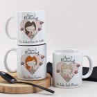 Unser 1. Muttertag - Tasse mit Mama und Baby in 3 Varianten