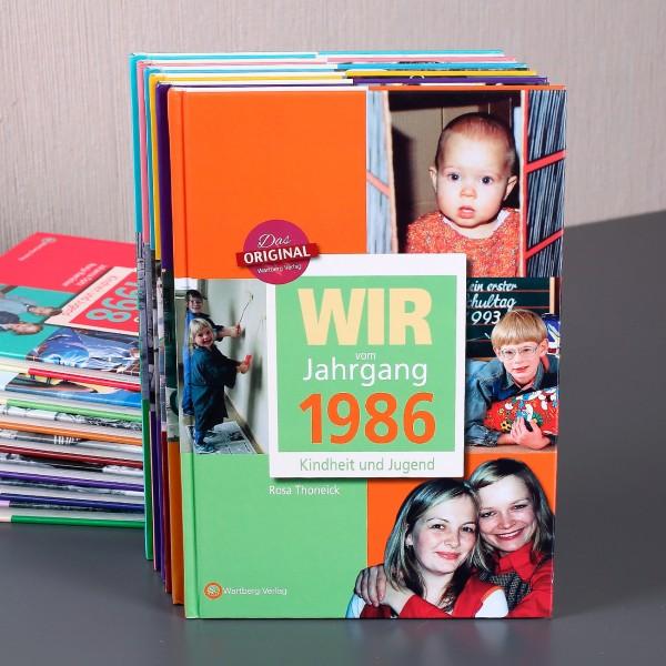 Jahrgangsbuch 1986 Kindheit und Jugend