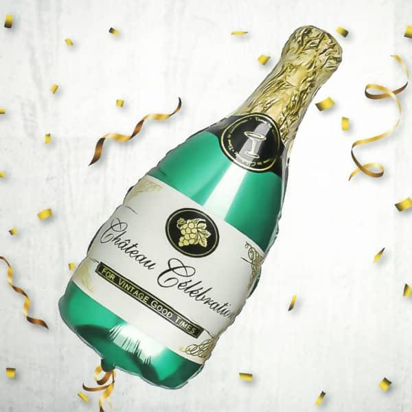Ballon Champagnerflasche
