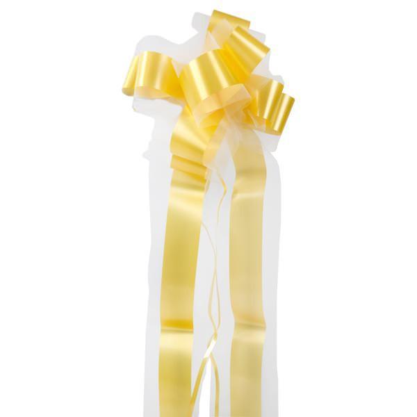 Deko Schleifenband mit Tüll