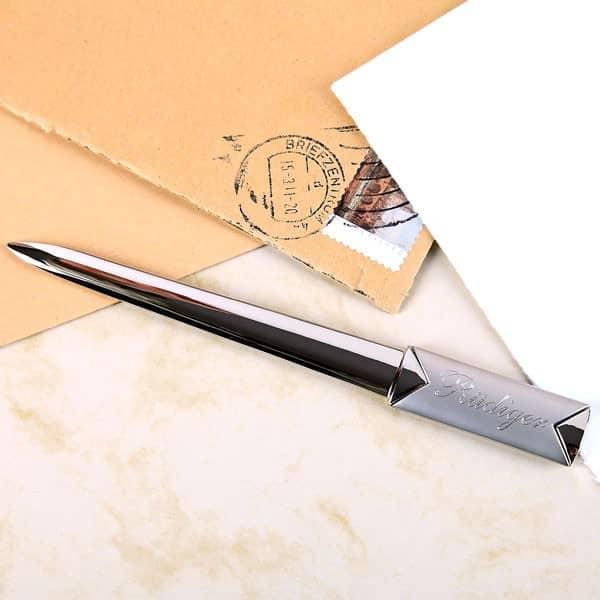 Brieföffner mit Gravur