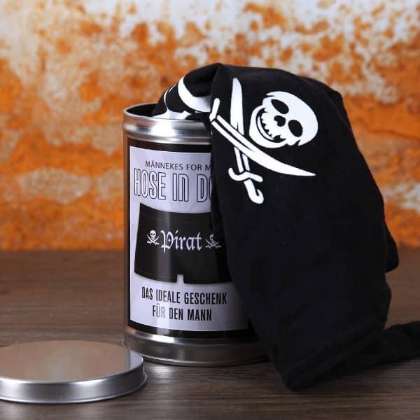 Hose in der Dose - Pirat