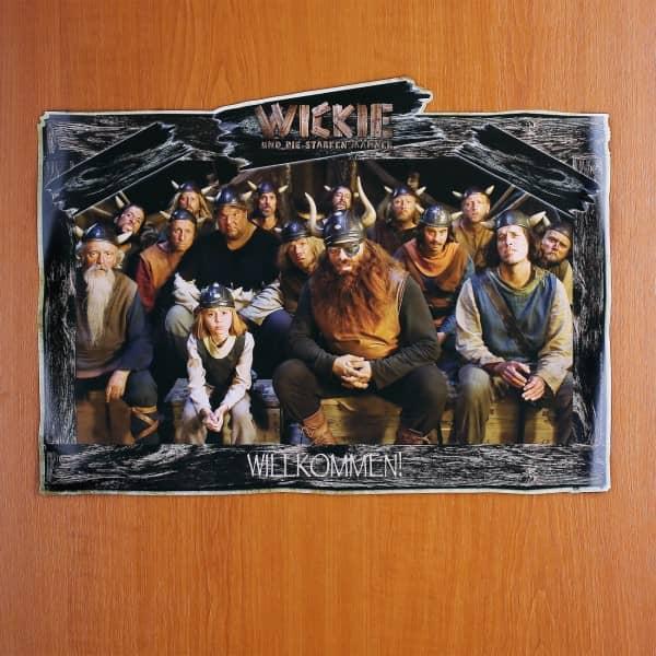Türschild Willkommen Wickie und die starken Männer