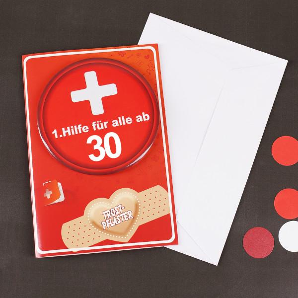 Karte - 1. Hilfe für alle ab 30