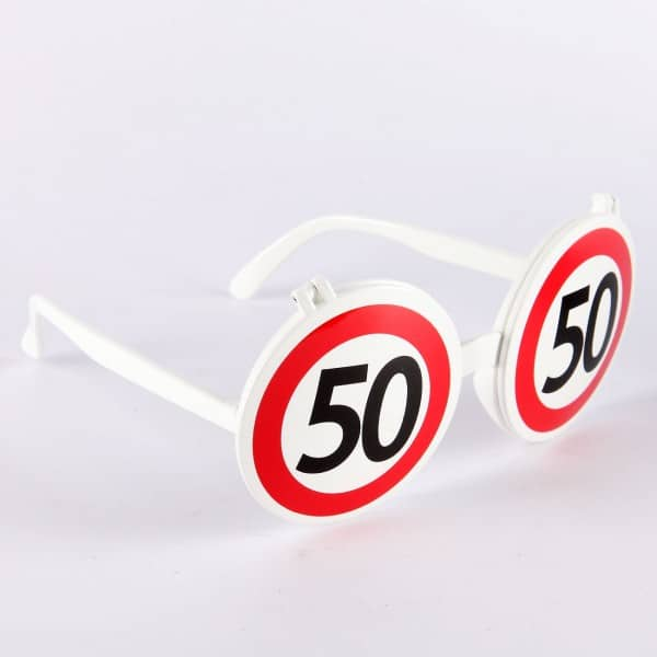 Spaß-Brille zum 50. Geburtstag