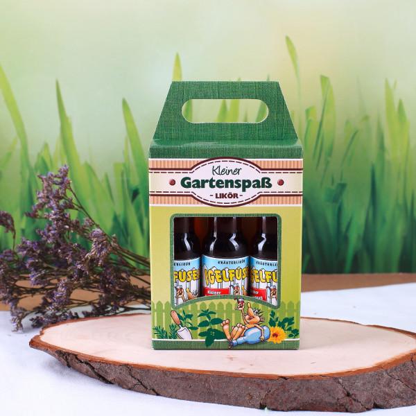 Kleiner Gartenspaß - Kräuterlikörbox