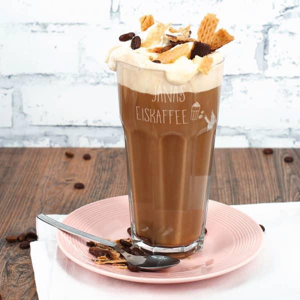 Trinkglas Eiskaffee