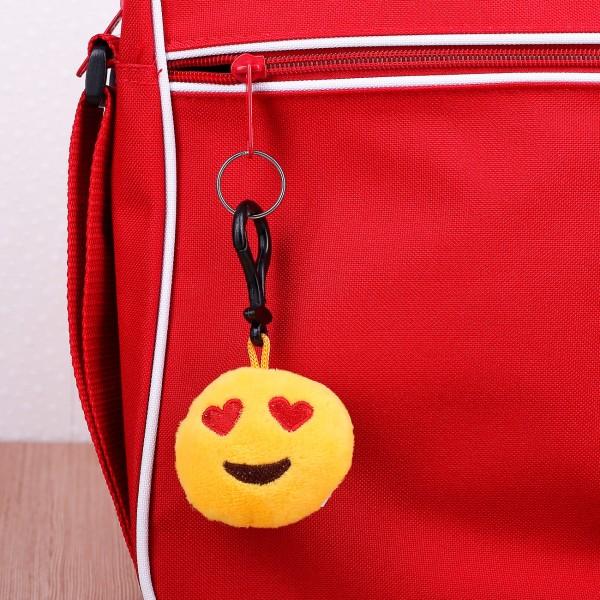 Verliebter Mini-Emoticon Schlüsselanhänger
