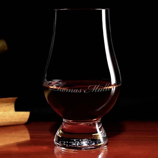 schottisches Glencairn Whiskyglas mit Gravur
