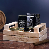 Gentleman Whiskey-set mit Ihrem Wunschnamen und Geburtsjahr