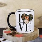 LOVE Fototasse für Verliebte