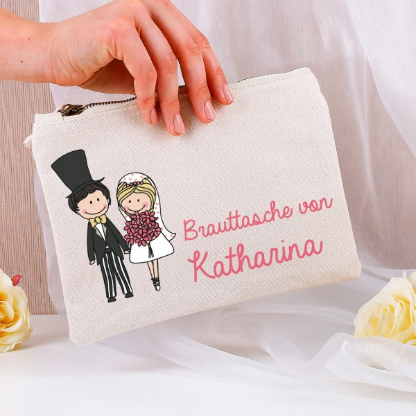 Personalisierte Brauttasche - individuell ausstattbar