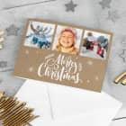 Merry Christmas - Foto Weihnachtskarte mit Ihren Lieblingsbildern