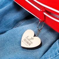 Lieblings... Schlüsselanhänger mit Wunschtext