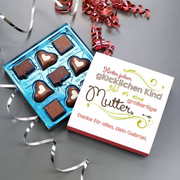 - Lindt Pralinen zum Muttertag mit Ihrem Wunschtext - Onlineshop Geschenke online.de