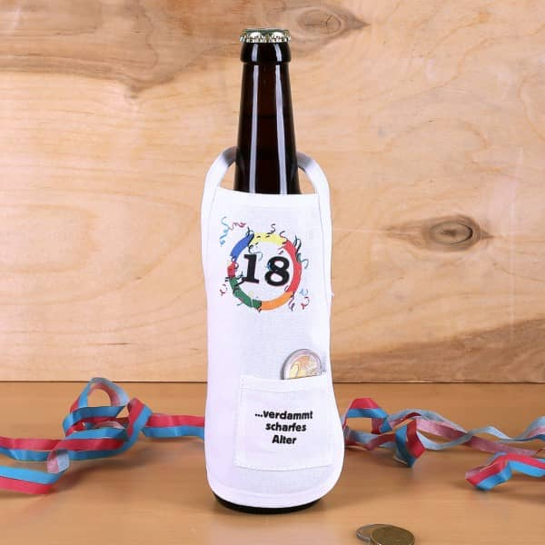 Flaschenschürze 18 - verdammt scharfes Alter