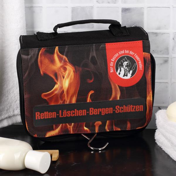 Ausgefallenspezielles - Waschtasche Nur die besten sind in der Feuerwehr - Onlineshop Geschenke online.de