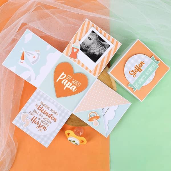 Überraschungsbox für den werdenden Vater