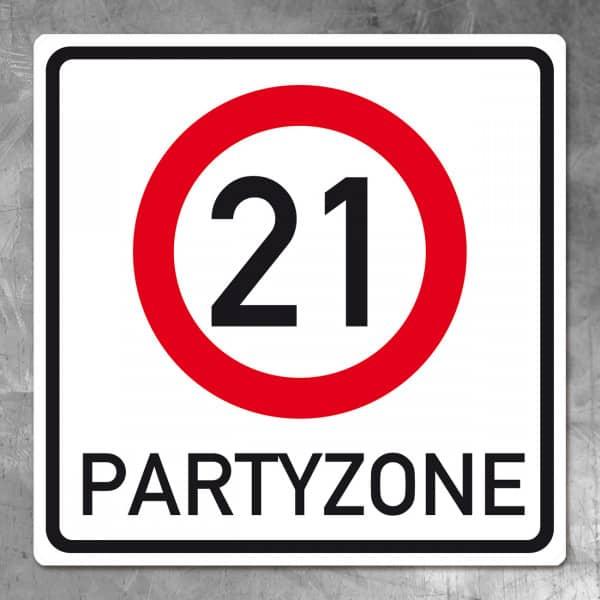 Banner zum 21. Geburtstag
