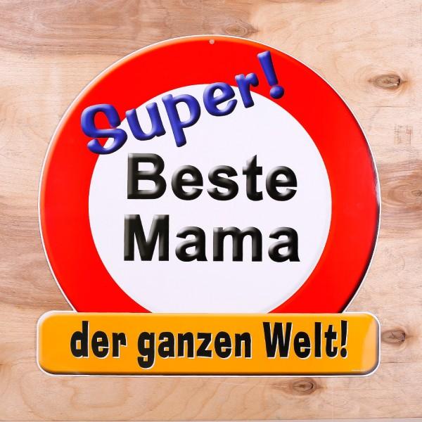 Riesiges Schild ''Beste Mama''