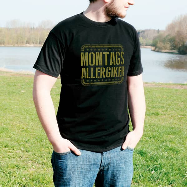 T-Shirt Montagsallergiker