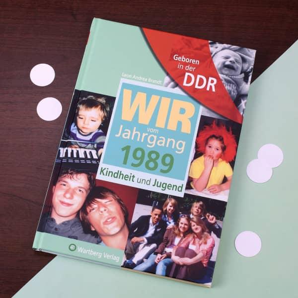 Jahrgangsbuch 1989 DDR