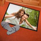 Persönliche Foto-Fußmatte