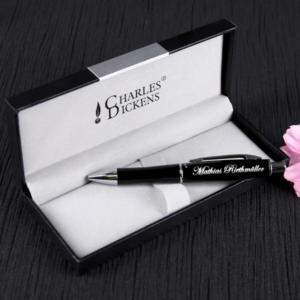 Charles Dickens Kugelschreiber im Etui