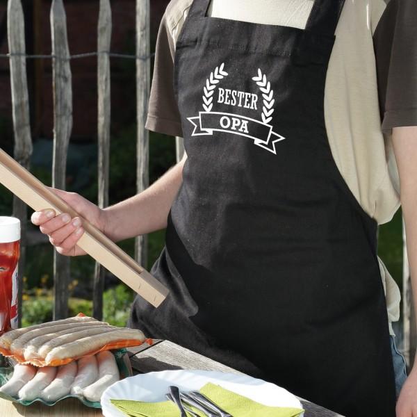 Koch und Grillschürze Bester Opa