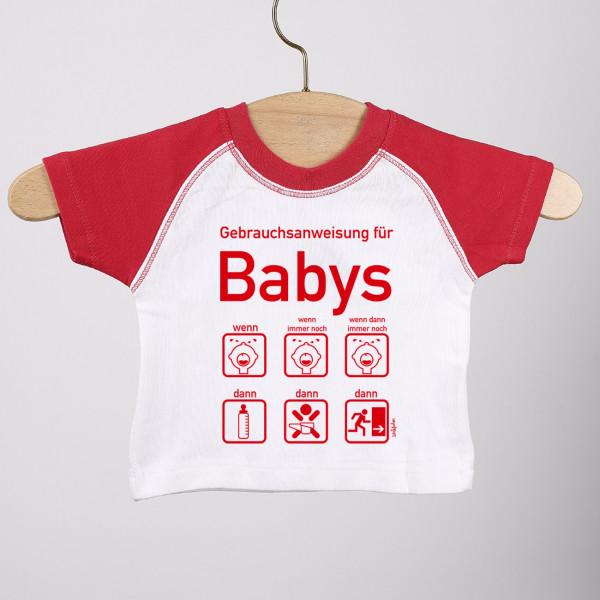 - T Shirt zur Geburt mit Gebrauchsanweisung für Baby Mädchen, Gr. 62 - Onlineshop Geschenke online.de