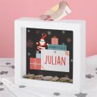 Top Weihnachtsgeschenk Weihnachtsgeld - Bilderrahmen Spardose personalisiert