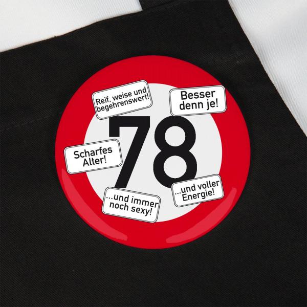 Button zum 78. Geburtstag