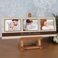Leinwand Collage 60 x 20 cm mit 3 Ihrer schönsten Fotos