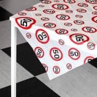 Tischdecke für die 50. Geburtstagsparty
