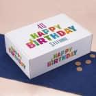 Happy Birthday - Geschenkverpackung zum Geburtstag