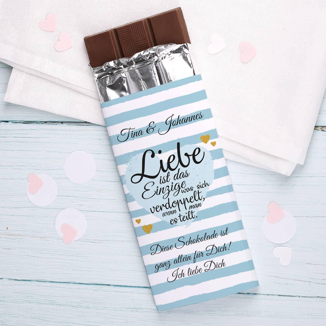 Schokolade Liebe