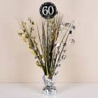 Tischfontäne zum 60. Geburtstag