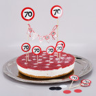 Torten-Deko Set zum 70. Geburtstag