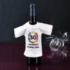 Mini T-shirt für Flaschen 30 - verdammt scharfes Alter