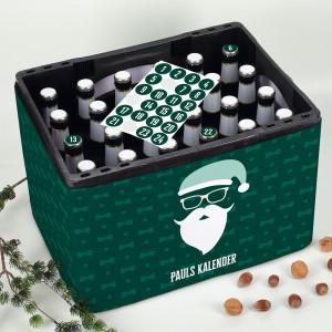 DIY Adventskalender Set für Bierkasten
