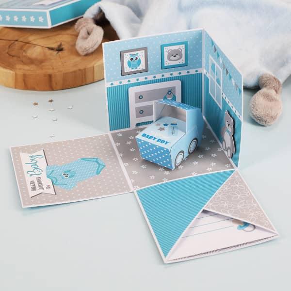 - Überraschungsbox zur Geburt, Babygeschenk für Jungen - Onlineshop Geschenke online.de