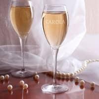 Personalisiertes Champagnerglas von Stölzle mit Wunschname