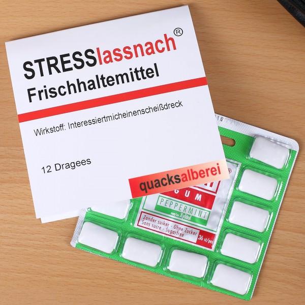 Kaugummi Frischhaltemittel - Stresslassnach